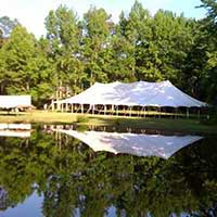 Tent rentals at Capital Events serving Cary NC, Raleigh-Durham North Carolina