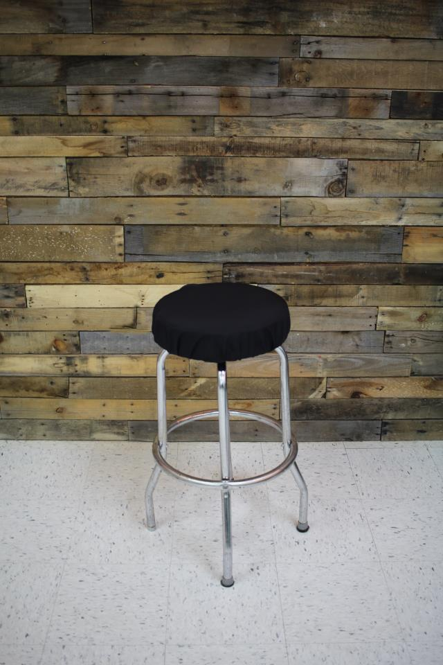 BARSTOOL BLACK PAD WO BACK Rentals Cary NC Where to Rent