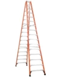 Rental store for LADDER, 16  STEP, FIBERGLASS HD  375 in Raleigh NC