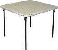Where to find TABLE, 36  SQ. WHITE PLASTIC TOP in Cary