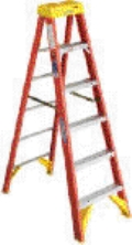 Rental store for LADDER, 14  TWIN STEP, FIBER in Raleigh NC