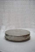Rental store for CAKE STAND, 18  ROUND SILVER in Raleigh NC