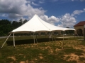 Where to rent 40 X 40   POLE TENT, WHITE-TT in Cary NC